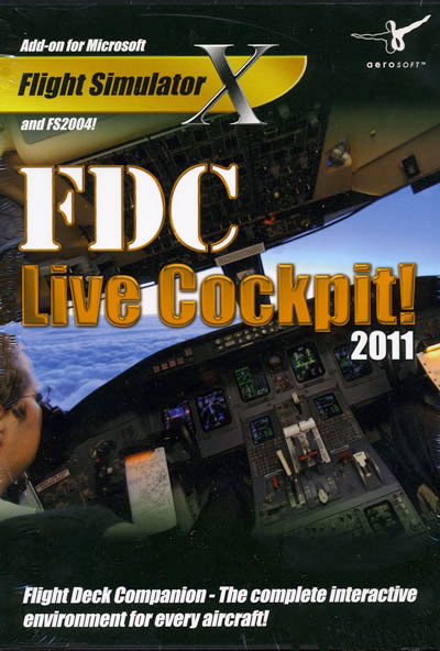 FDC Live Cockpit 2011 (download version) (Aerosoft 4015918118149-D)