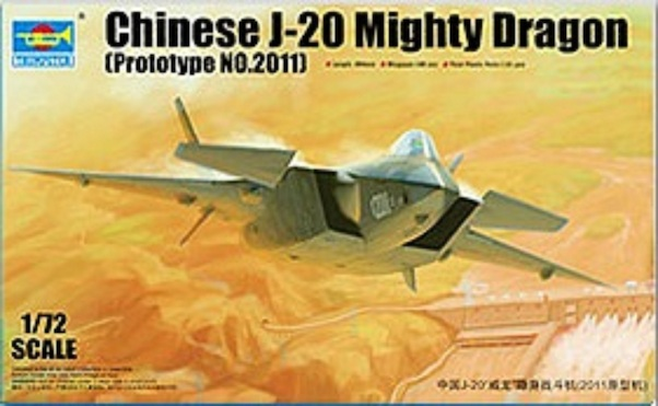 Chinese J-20 Mighty Dragon (Prototype 2011)  01665