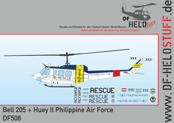 Bell  205 plus Huey II (Philippine Air Force)  DF50872
