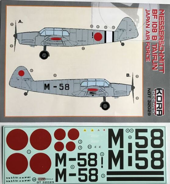Messerschmitt BF108B Taifun (Japan Army Air Force)  NDT32029