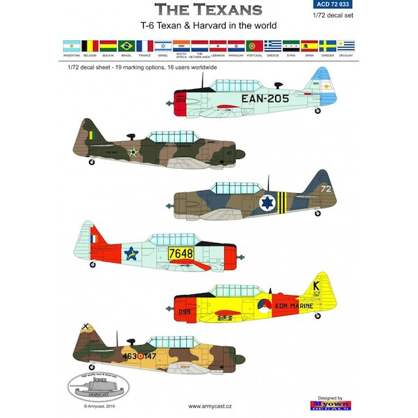 The Texans,  North American T6 texan and harvards in the world  ACD72033