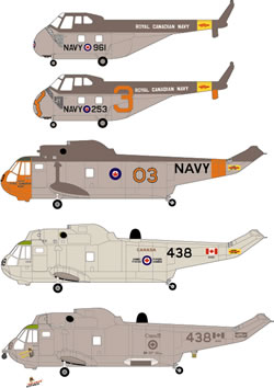 Canadian Helicopters (S55,SH3)