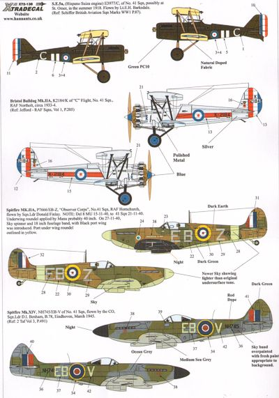 RAF No41sq History Part 1  X72138