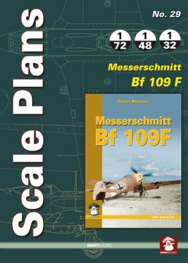 Scale Plans: Messerschmitt Bf109F  9788363678982
