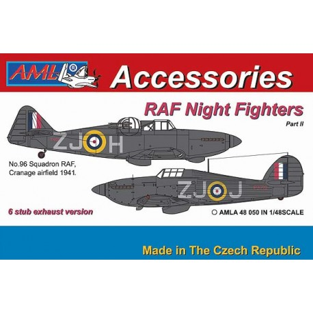 RAF Nightfighters part 2 Hurricane and Defiant (Airfix)  AMLA72047