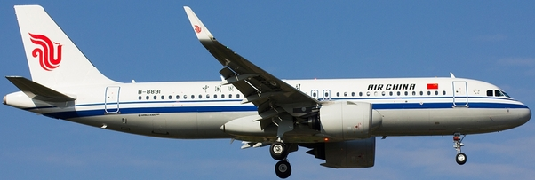 A320neo (Air China) B-8891 With Stand  XX2070