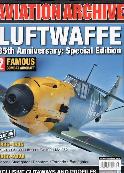 Aviation Archive - luftwaffe 85th Anniversary special edition  978191329511020