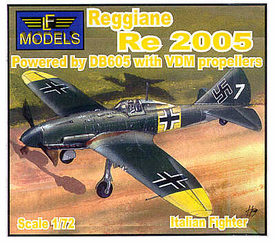 Regigiane Re2005 DB605  72041