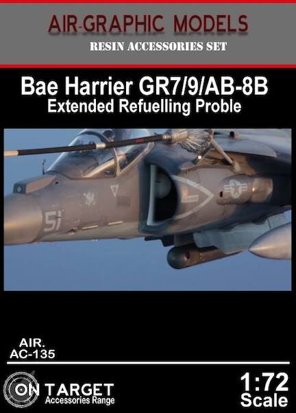 Harrier GR7/9 & AV8B Harrier extended refueling probe  AIR.AC-135
