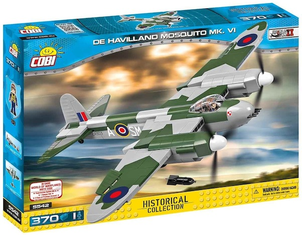 De Havilland Mosquito (370 pieces)  5542
