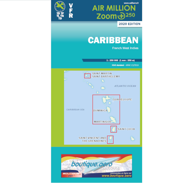 Caribbean; French West Indies 2020  3760249830154