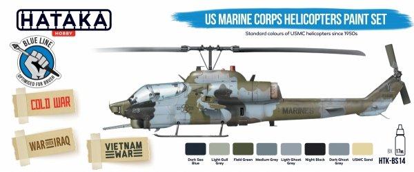 Hataka Hobby Paints MODERN US ARMY /& US MARINE CORPS Blue Line Acrylic Paints