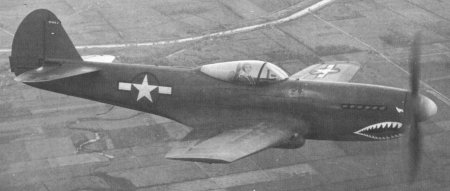 Curtiss XP40Q-2 Warhawk,