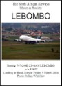Lebombo SAA''s Boeing 747-200 Lebombo's last flight and landing at Rand Airport 20046  SAAM3