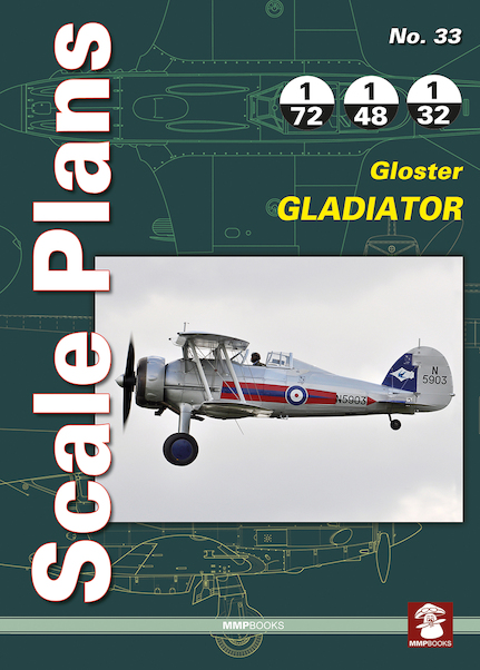 Scale Plans: Gloster Gladiator  9788365281258