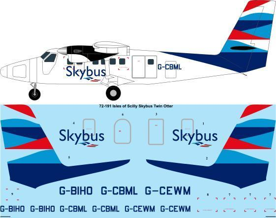 Twin Otter (Isles of Scilly Skybus)  72-191