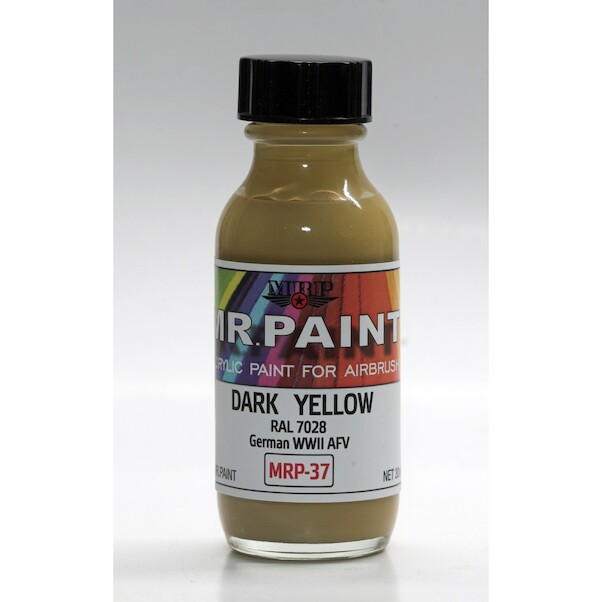 Dark Yellow RAL7028 German WWII AFV's  (30ml Bottle)  MRP-037
