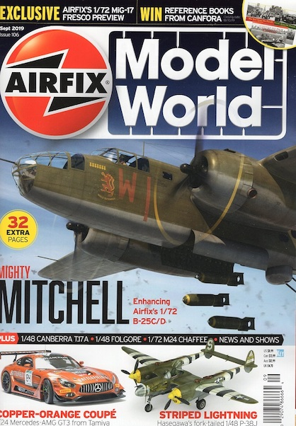 Airfix Model World Issue 106 Sept 2019  002907486666408