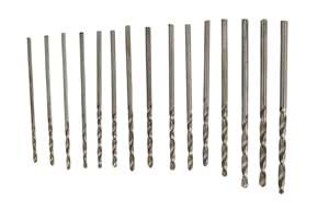 Drill bit assortment 1,05 -2,00 mm (15 drills)  SQ10822
