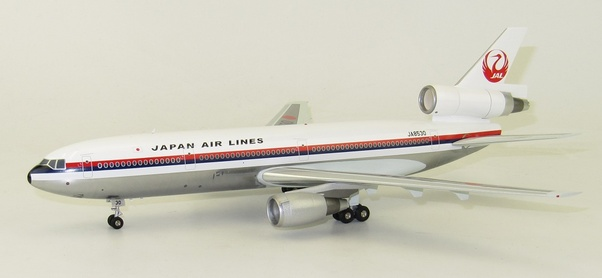 DC10-40 (JAL, Japan Air Lines) JA8530 With Stand LIMTED 80 pcs  VL2017001