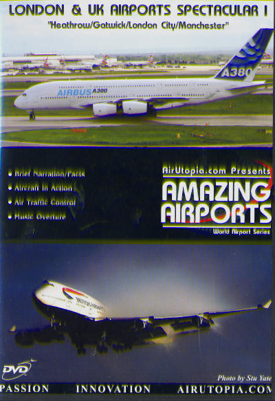 London and UK Airports Spectaculars 1 Heathrow/Gatwick/London City/Manchester 1987-2005  1932544313