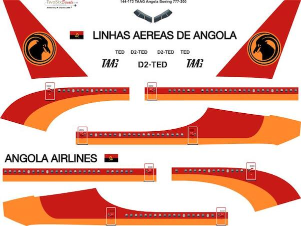 Boeing 777-200 (TAAG Angola Airlines)  144-173