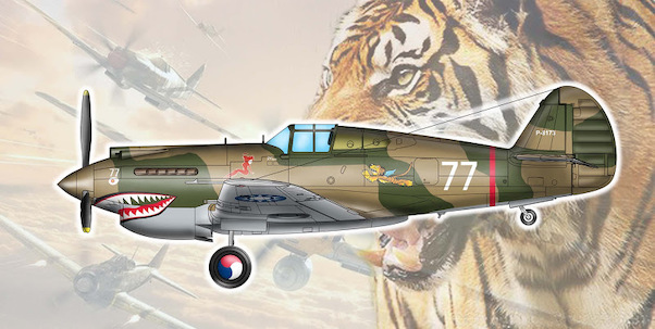 Curtiss H81A-2 Tomahawk (AVG Flying Tigers)  TR05807