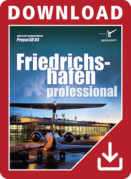 German Airports - Friedrichshafen professional (Download version)  14166-D
