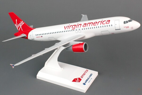A320 (Virgin America)  SKR777