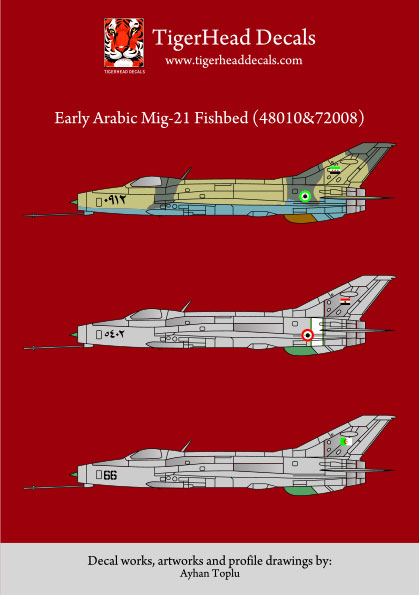 Early Arabic Mikoyan MiG21F-13 Fishbeds  48010