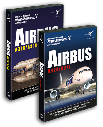 Airbus A318/A319 and A320/A321 Bundle (Download version) (Aerosoft  4015918132350-D)