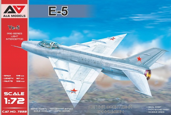 Mikoyan Ye5 Pre-series light interceptor (MiG-21's predecessor)  AAM7222