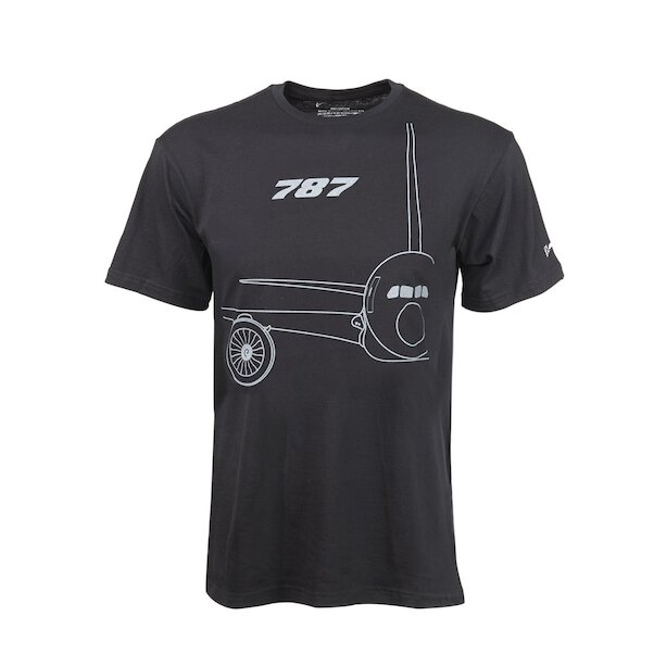 787 Midnight Silver T-Shirt