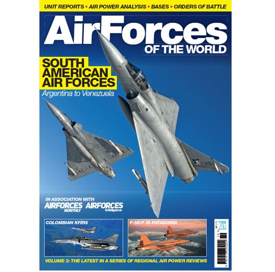 AirForces of the World - South American Air Forces: Argentina to Venzuela  978191329500419