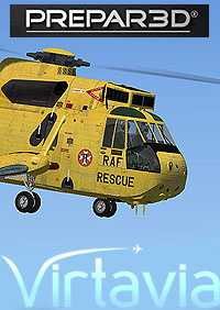 SH-3 SEA KING P3D EDITION - Main Package  VIRTA_SH-3 MAIN P3D
