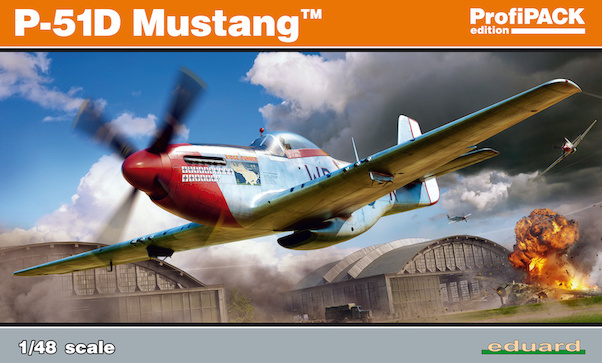North-American P-51D-10 and higher Mustang Profipack (Version with fin fillet) (BACK IN STOCK)  82102