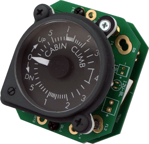 B737 Cabin climb Gauge with backlight V2  SIS-0536
