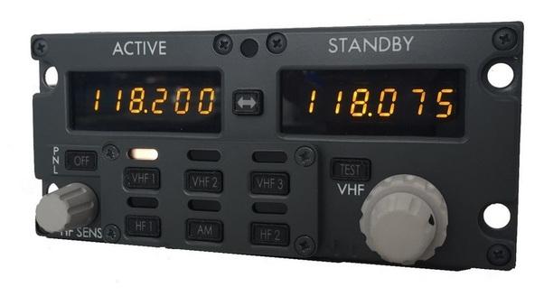 B737 Communication Radio (CP Flight MULTI737)