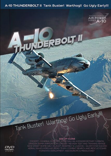 A-10 Thunderbolt II Tankbuster! Warthog! Go Ugly Early!  0096962101374