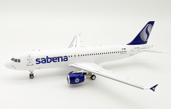 Airbus A320 Sabena OO-SNE With Stand  IF320SN001