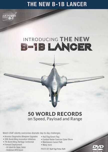 Introducing the new B-1B Lancer: 50 world records on speed, payload and range  0096962101480
