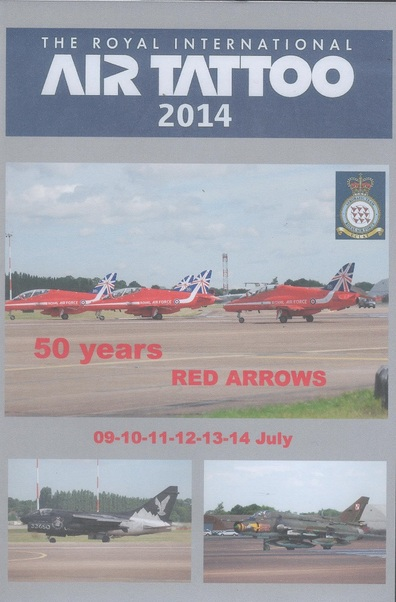 The Royal International Air Tattoo 2014, 50 years of Red Arrows (RIAT2014)  DVD-RIAT2014
