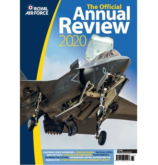 Royal Air Force 2020: The official RAF Annual Review 2020  9781912205547
