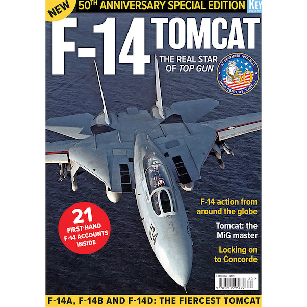 F-14 Tomcat: 50th anniversary special edition  978191329547920