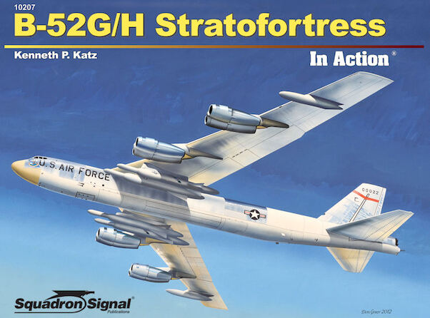 B52G/H Stratofortress in Action  9780897476874
