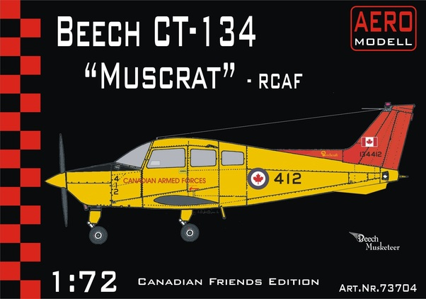 Beech CT134 Muskrat (Retooled kit)  01-73704