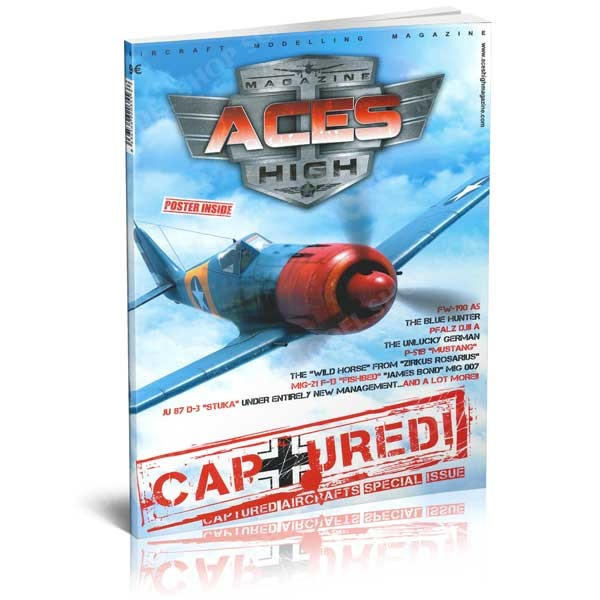 Aces High Magazine No 8: Captured  8436564920355