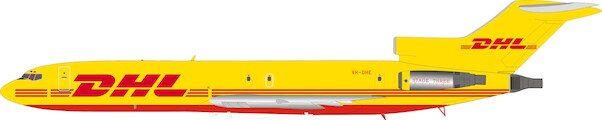 Boeing 727-200 DHL VH-DHE  With Stand  IF722DH1219