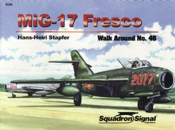 MiG17 Fresco Walk Around  0897475127