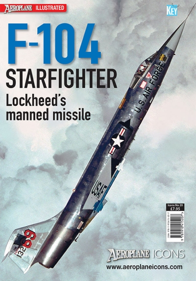 Aeroplane ICONS F-104 Starfighter  9781910415207